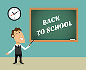 Back to school, illustration