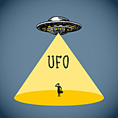 UFO, illustration
