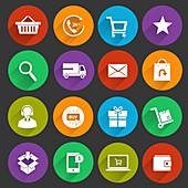 Online shopping, illustration