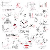 Business ideas, illustration