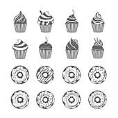 Desserts, illustration