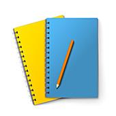 Notepad, illustration