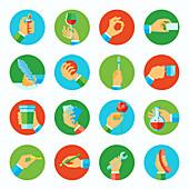 Activities, illustration