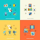 Photography, illustration