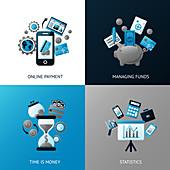 Finance, illustration
