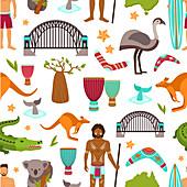 Australia, illustration
