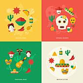 Mexico, illustration
