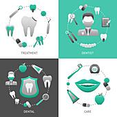 Dentistry, illustration