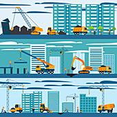 Construction, illustration