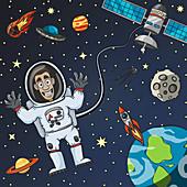 Space, illustration