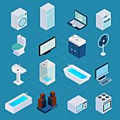 Household appliances, illustration