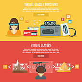 Virtual reality, illustration