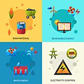 Energy, illustration