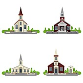 Churches, illustration