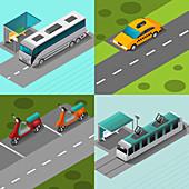 Transport, illustration