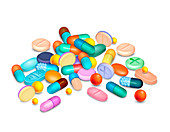 Pills, illustration