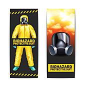 Biohazard protection, illustration