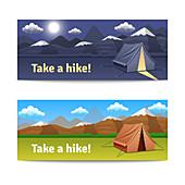 Camping, illustration
