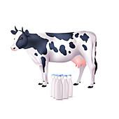 Milk, illustration