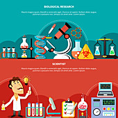 Scientist, illustration