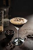 An Espresso Martini cocktail