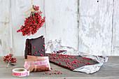 Homemade chocolate as a gift