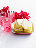 Mandarin Polenta Biscuits