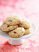 White Chocolate and Cranberry Shortbreads