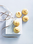 Ginger, Lime and Cashew Shortbreads