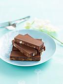 Choc-caramel Slice