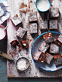 Over The Top Chocolate and Macadamia Brownies