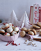 Danish peppernut biscuits