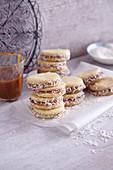 Alfajores dulce de leche (Argentinian sandwich biscuits)