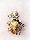 Ingredients for golden milk