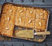Harissa – Palestinian semolina cake
