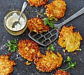 Levivot – Israeli potato fritters