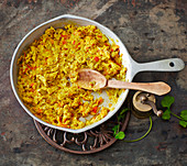 Mirza Ghasemi – aubergine scrambled eggs from Iran