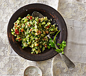 Tabbouleh – parsley and bulgur salad from Palestine