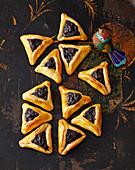 Oznei Haman – Jewish poppyseed cakes