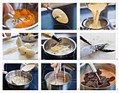 Cremepudding mit Birnen zubereiten