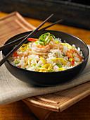 Shrimp fried rice (Vietnam)