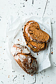 Italian tomato and basil bread