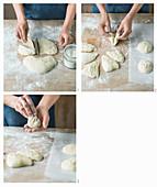 How to make no-knead ciabatta bread rolls