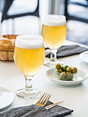 Clara (lemon beer) served in Spain
