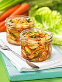 Kimchi preserves (Korea)