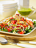 Spriralizer vegetable salad