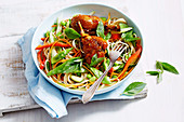 Chilli Jam and Soba Noodle Salad