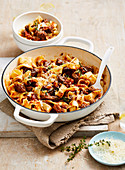 Beef and Parsnip Ragu with Pappardelle