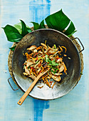 Stir-fried spicy pork with ginger (Yap Islands)