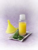 After-Sun-Pflege aus Alore-vera-Presssaft und Ölen